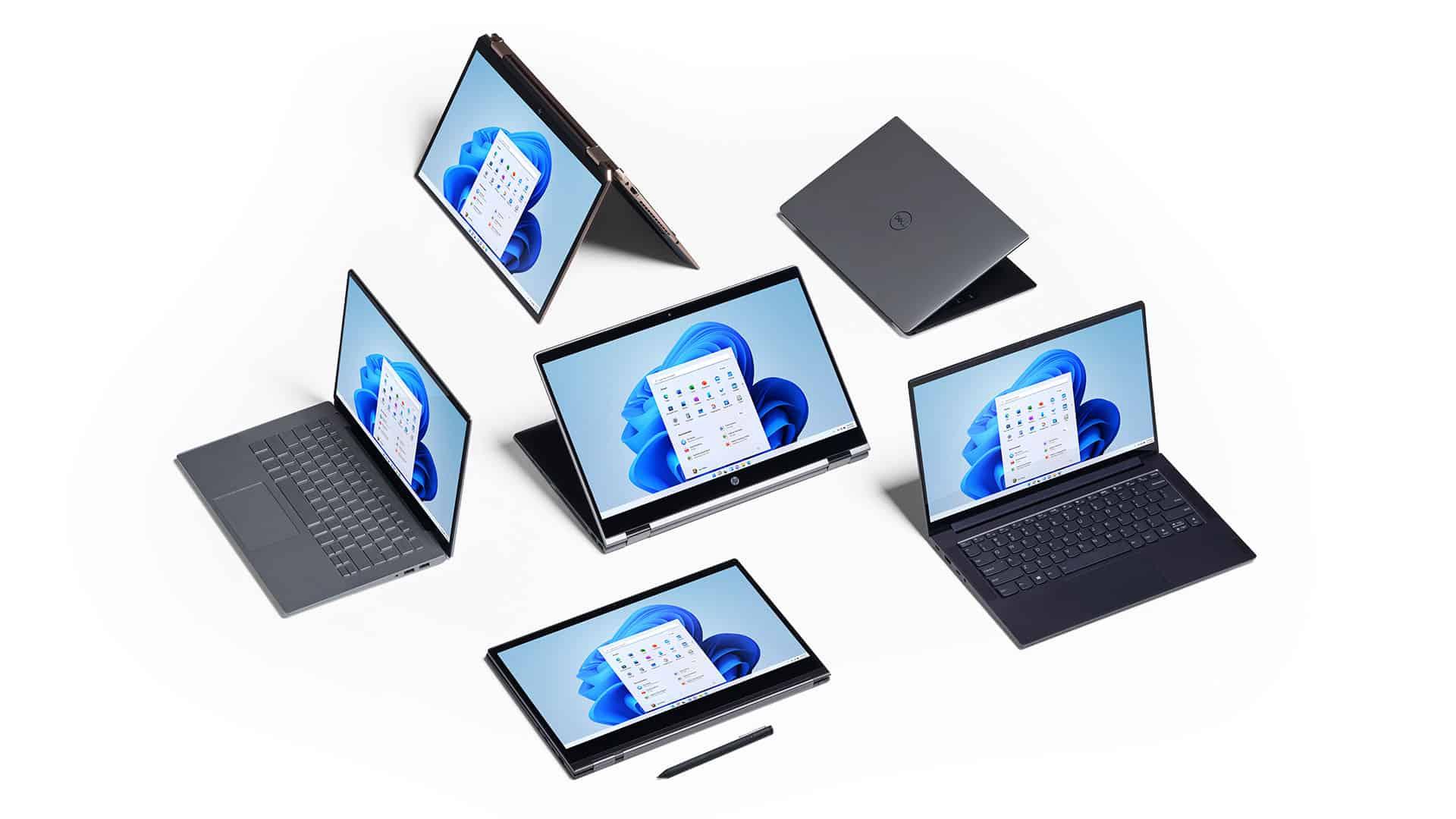 พีซีเพื่อเราทุกคน Windows ใหม่ พร้อมใช้งานบนอุปกรณ์หลากหลายรุ่นจากพันธมิตรของเรา